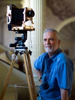 portrait of NH photographer Paul Wainwright